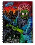 Mars Attacks 2 Spiral Notebook