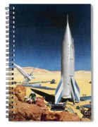 Mars Mission, 1950s Spiral Notebook