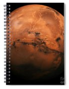 Mars The Red Planet Spiral Notebook