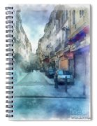 Marseille Back Street Spiral Notebook