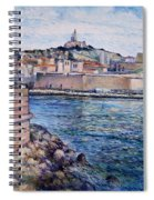 Marseille Pierre Plats Provence France Cm 2004  Spiral Notebook