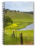 Marsh Creek Road Spiral Notebook