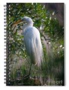 Marsh Heron Spiral Notebook