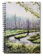 Marsh Lands Spiral Notebook