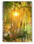 Willow Weep For Me Spiral Notebook