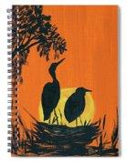 Marsh Nest Spiral Notebook