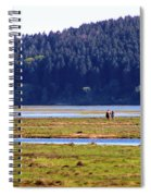 Marsh People Spiral Notebook