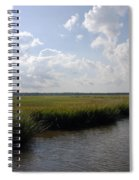 Marsh Scene Charleston Sc II Spiral Notebook