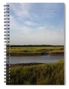 Marsh Scene Charleston Sc Spiral Notebook