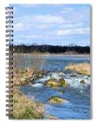 Marsh Spill Way Spiral Notebook