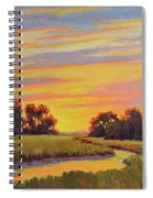 Marsh Sunrise Spiral Notebook