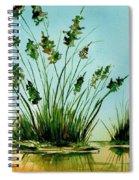 Marsh Weeds Spiral Notebook