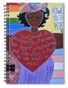 Marsha P Johnson Spiral Notebook