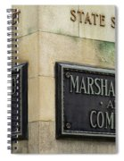 Marshal Field And Company Spiral Notebook