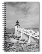 Marshal Point Light 1 Spiral Notebook