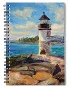 Marshal Point Light Spiral Notebook