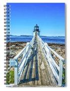 Marshall Point Light Station Spiral Notebook