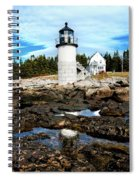 Marshall Point Reflection Spiral Notebook