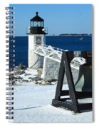 Marshall Point Snow Spiral Notebook