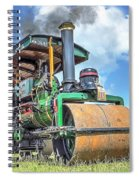 Marshall Steam Roller Spiral Notebook