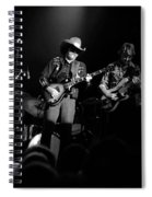 Marshall Tucker Winterland 1975 #12 Enhanced Bw Spiral Notebook