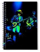 Marshall Tucker Winterland 1975 #12 Enhanced In Cosmicolors #2 Spiral Notebook