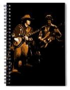 Marshall Tucker Winterland 1975 #17 Enhanced In Amber Spiral Notebook