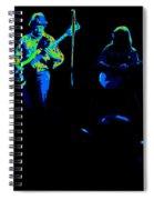 Marshall Tucker Winterland 1975 #18 Enhanced In Cosmicolors Spiral Notebook