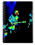 Marshall Tucker Winterland 1975 #23 Enhanced In Cosmicolors Spiral Notebook