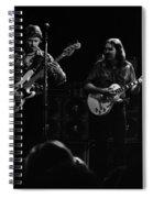 Marshall Tucker Winterland 1975 #36 Spiral Notebook