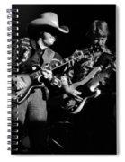 Marshall Tucker Winterland 1975 #4 Crop 2 Spiral Notebook