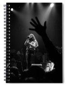 Marshall Tucker Winterland 1975 #6 Crop 2 Spiral Notebook