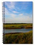 Marshland Charleston South Carolina Spiral Notebook