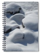 Marshmallow Rocks Spiral Notebook