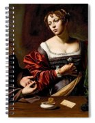 Martha And Mary Magdalen Spiral Notebook