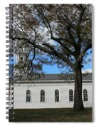 Martha Mary Chapel In Sudbury Ma 2 Spiral Notebook