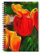 Martha's Garden Spiral Notebook