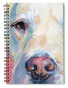 Martha's Pink Nose Spiral Notebook