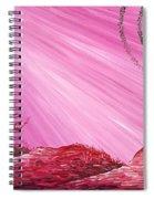 Martian Dusk Spiral Notebook