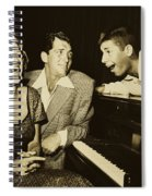 Martin, Lewis, And Clooney Spiral Notebook