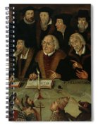 Martin Luther In The Circle Of Reformers Spiral Notebook