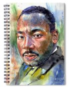 Martin Luther King Jr. Painting Spiral Notebook