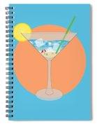 Martini Beach Spiral Notebook