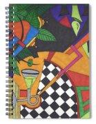 Poison Spiral Notebook