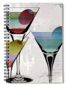 Martini Prism Spiral Notebook
