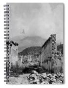 Martinique: Ruins Spiral Notebook
