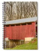 Martinsville Covered Bridge Spiral Notebook