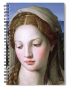 Mary Spiral Notebook