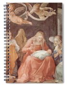 Mary And Angels 1611 Spiral Notebook