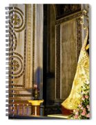 Mary And Baby Jesus In Palermo Spiral Notebook